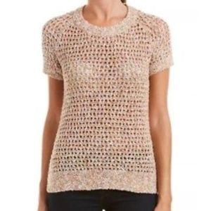 Cabi Sorbet Pullover Short Sleeve Sweater #196
